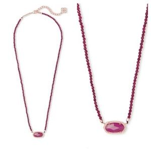 NWT KS Elisa Beaded Necklace